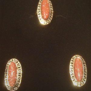 925 gümüş yüzük küpe set