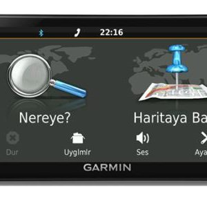 """Garmin 2589 LM 5"""" Canlı Trafik ,Ücretsiz Ömür Boyu Harita,"""