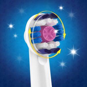 Oral-B 3D White 4'lu Diş Fırçası Yedek Başlığı