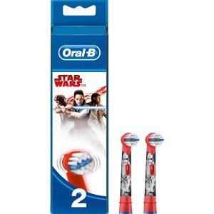 Oral-B Diş Fırçası Şarjlı Yedek Başlık Çocuk Starwars 2'li