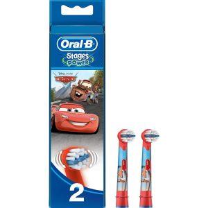 Oral-B Stages Çocuklar İçin Diş Fırçası Yedek Başlığı 2 Adet