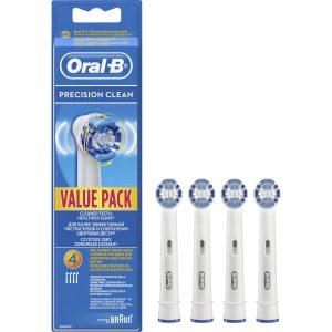 Oral-B Precision Clean 4'lu Diş Fırçası Yedek Başlığı