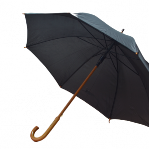 Rainshield Ahşap Gövdeli 103CM Tam Otomatik Baston Battal Şemsiye